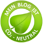 Dieser Blog ist CO2 neutral.
